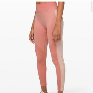 Lululemon Ebb to Train Tight *Abstract copper clay
